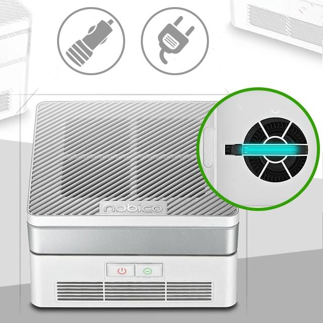 Кварцевый очиститель воздуха НЕРА для авто и дома Nobico