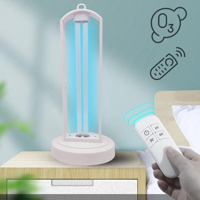 Бактерицидный УФ-светильник озоновый KEN-101 с пультом ДУ