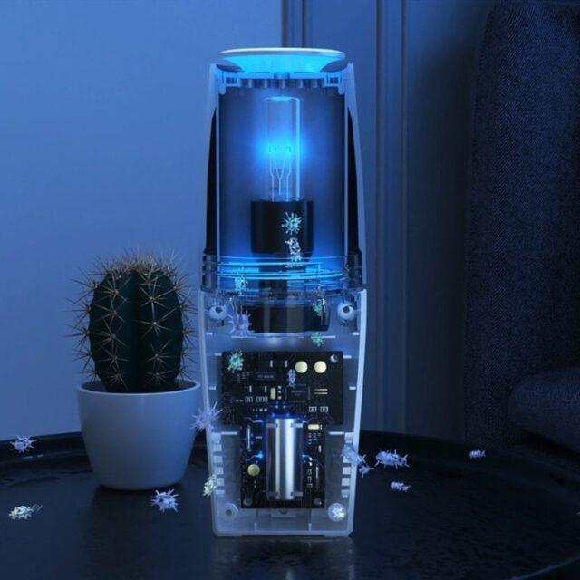Портативный USB очиститель воздуха дезинфектор бактерицидный TURBO CLEAN-U